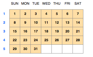 FileMaker: Explore: Creating Calendars with Portal Filters ...