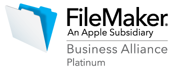 FileMaker Business Alliance Platinum member